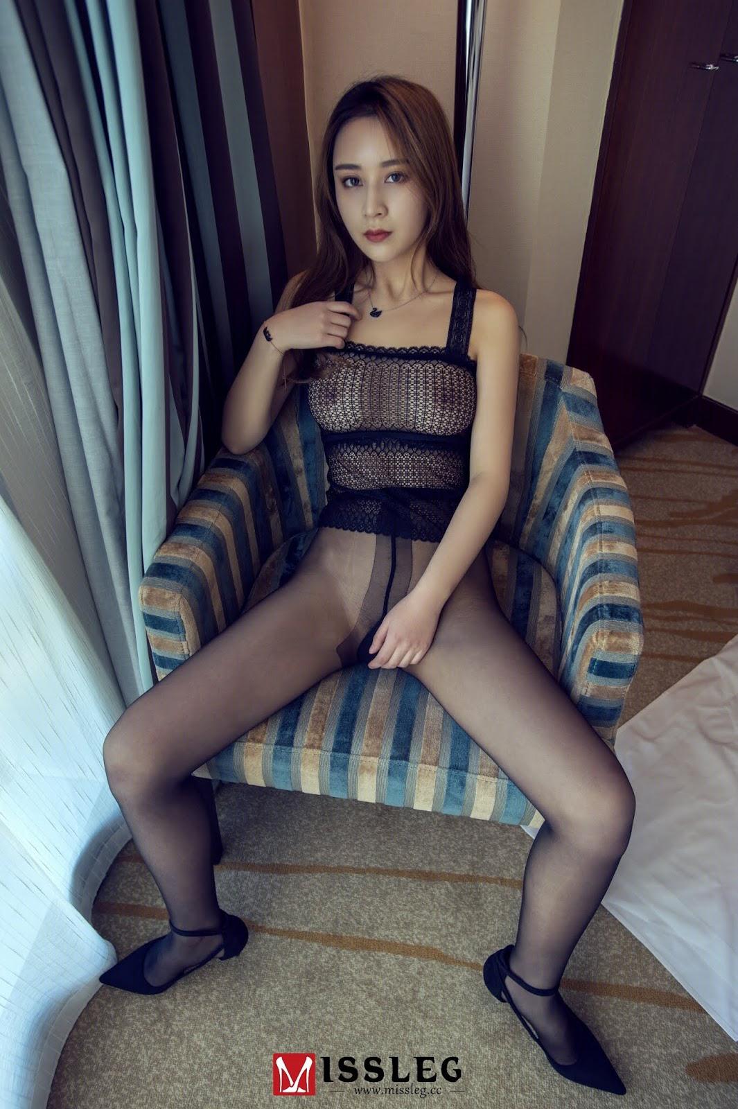 Chinese Model 嫩模乔 MissLeg No 005 (61 Pict)
