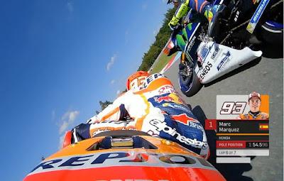 Nyaris Tabrakan di Kualifikasi, Rossi vs Marquez Kembali Memanas?