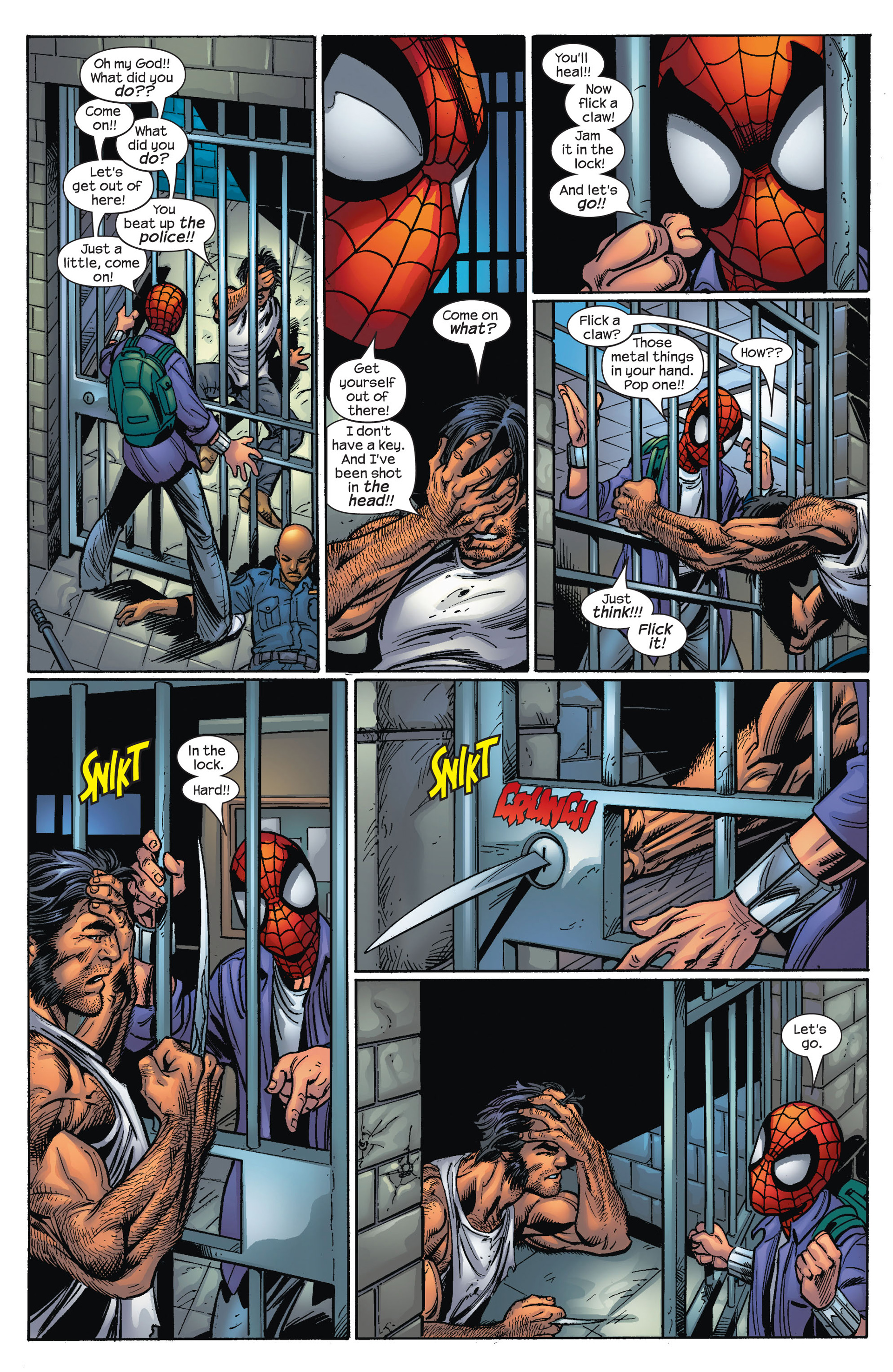 Read online Ultimate Spider-Man (2000) comic -  Issue #67 - 15
