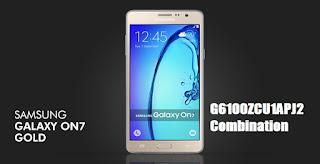 G6100 Combination, Samsung On7 Combination