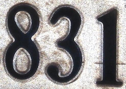NumberADay: 831