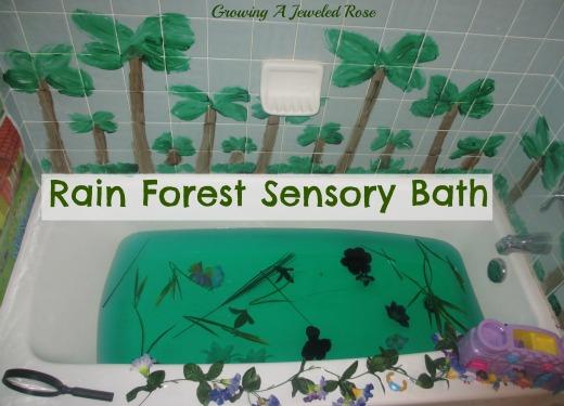 Bath ideas for kids
