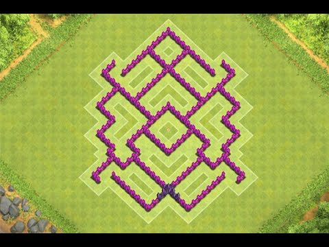 Clash of clans comment faire un bon village hdv 5 YouTube