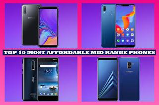 Mid Range Smartphones under 30000 Rupees