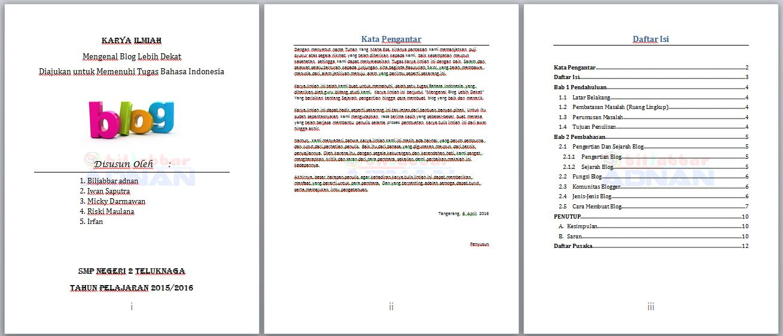Tutorial Ms.Word : Cara membuat penomoran halaman yang