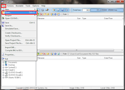 Cara Membuat Botable OS USB Dengan UltraISO Terbaru