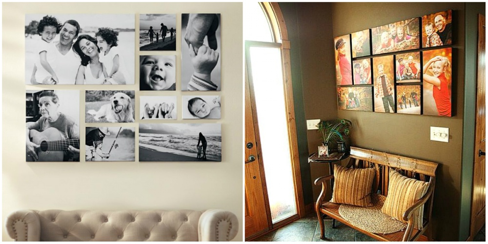 6 cool ideas how to hang frames with pictures
