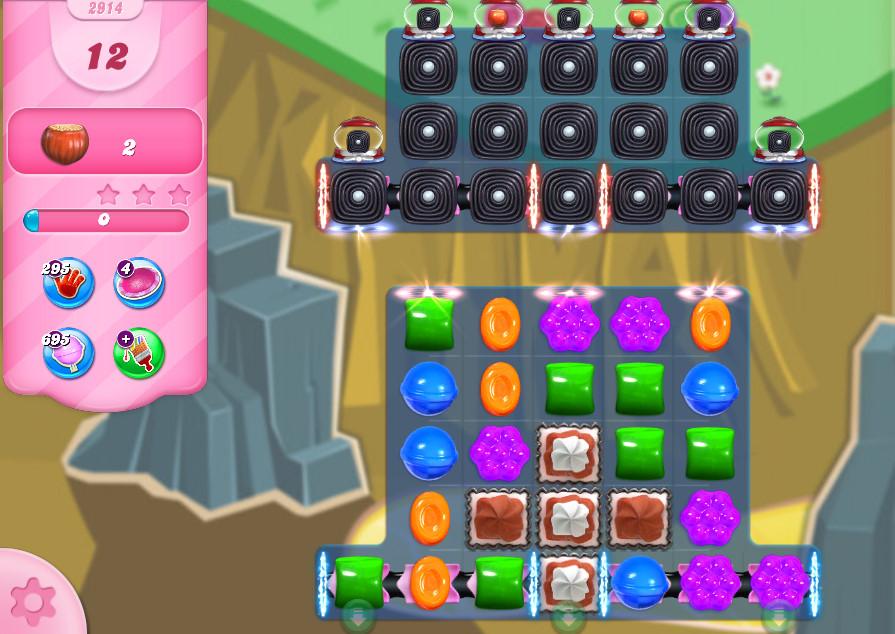 Candy Crush Saga level 2914