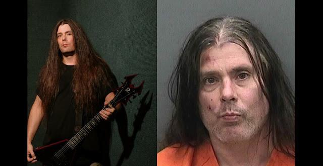 Guitarrista de Cannibal Corpse arrestado luego de atacar a un policía