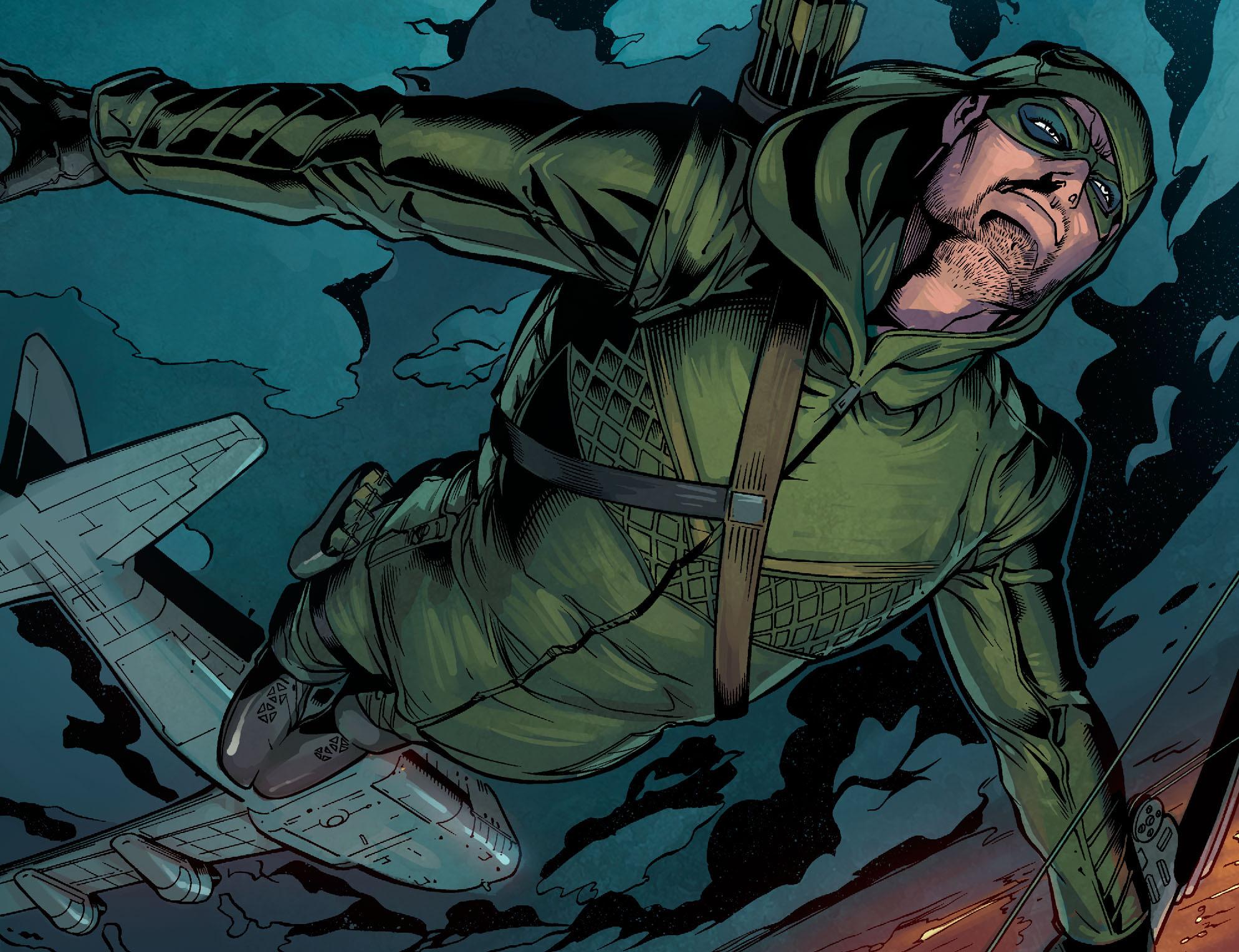 Read online Arrow: Season 2.5 [I] comic -  Issue #2 - 4