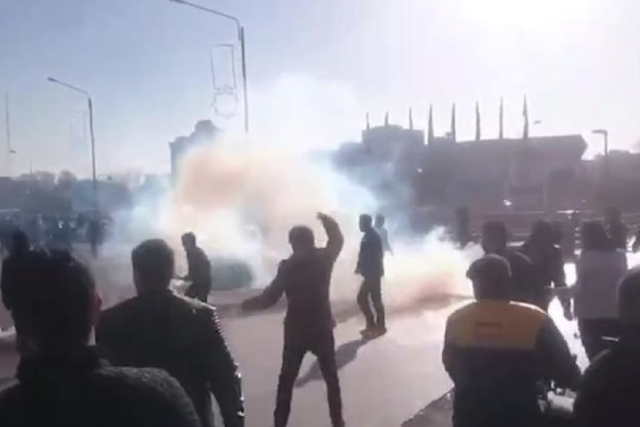 Price protests turn political in Iran as rallies spread