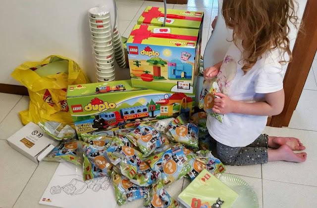 kit festa a tema Lego Duplo