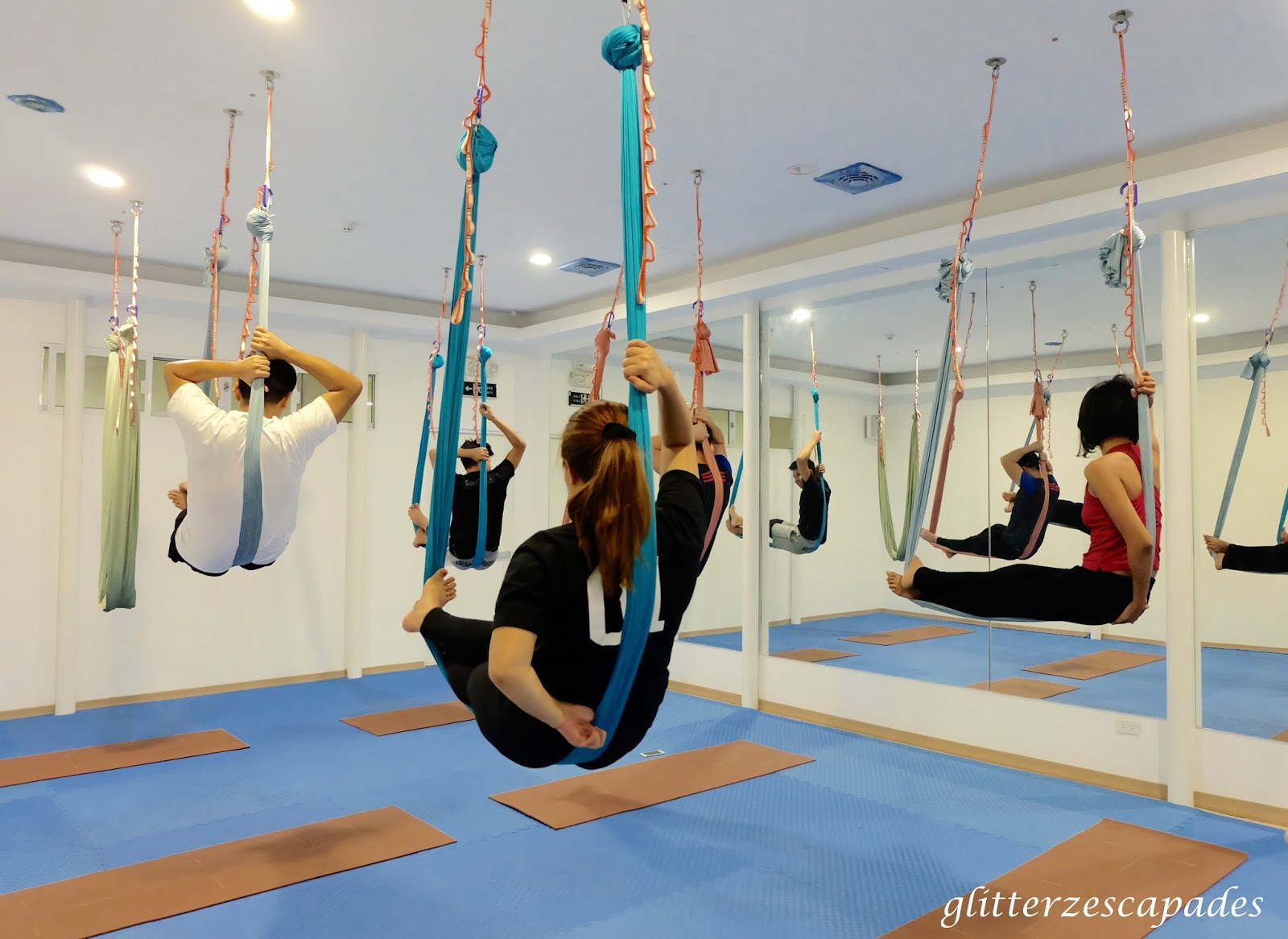 lsu teaches passion the article image yoga and daily finds student hammock aerial