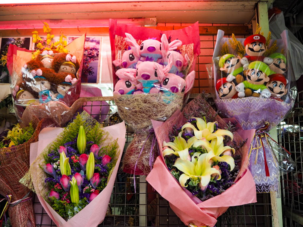 Bouquet of cuddly toys