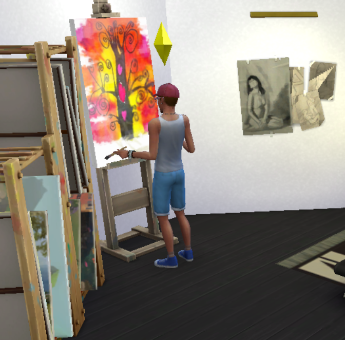 Sims 4 Painting Skill Guide |