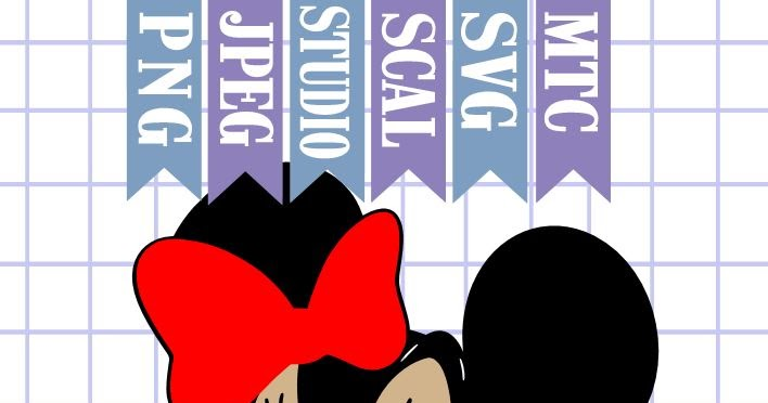 Download The Scrapoholic : Free MTC & SVG Cut Files! DiSNEY Minnie #06