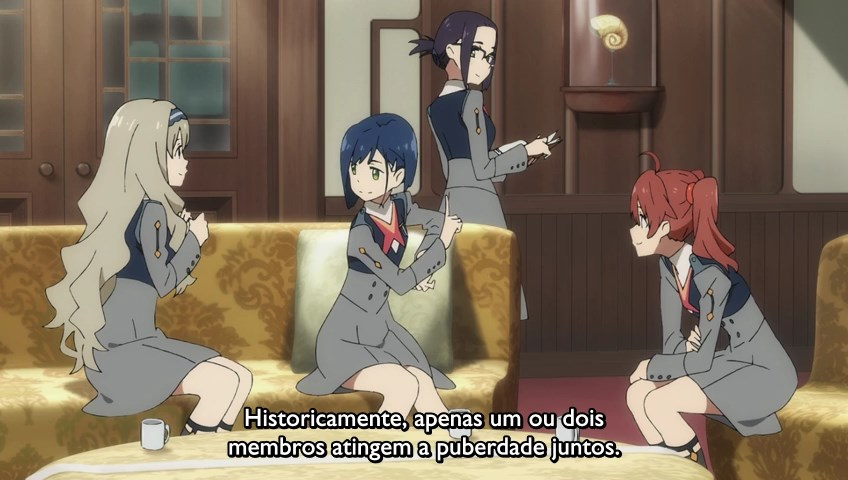 Comentando Darling in the franxx ep 8
