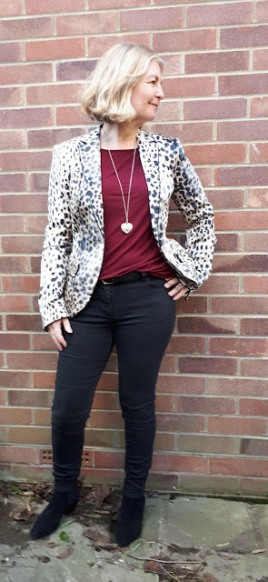 leopard print jacket outfit