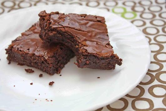 Resepi : Fudgy Homemade Brownies