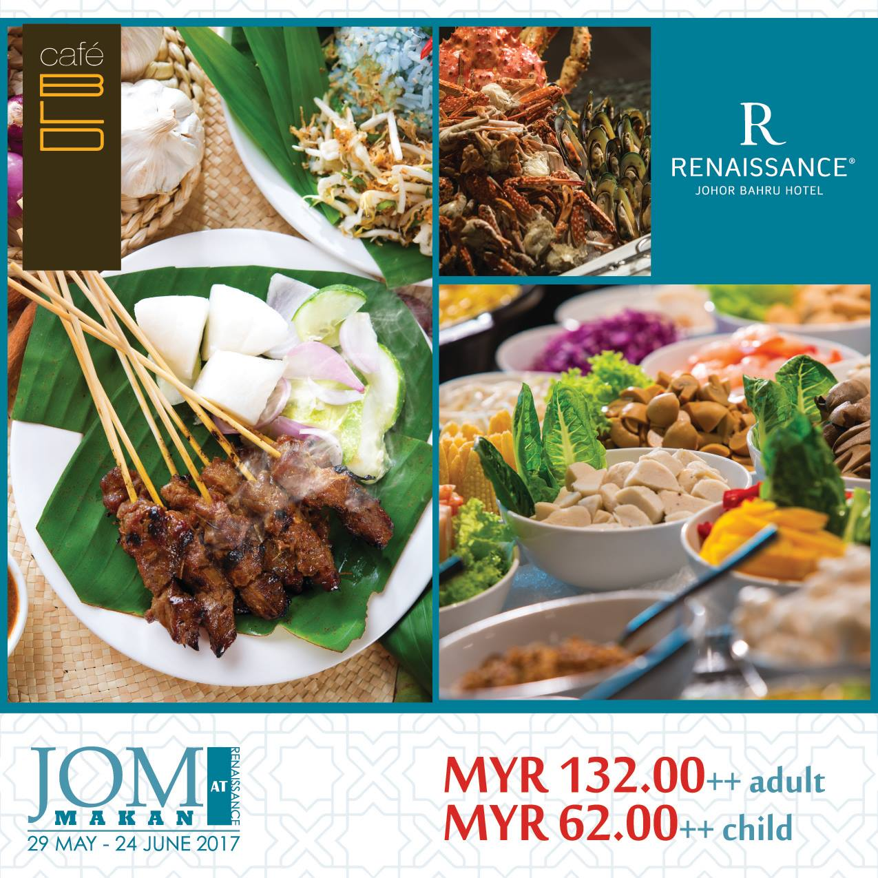 renaissance hotel jb buffet ramadhan