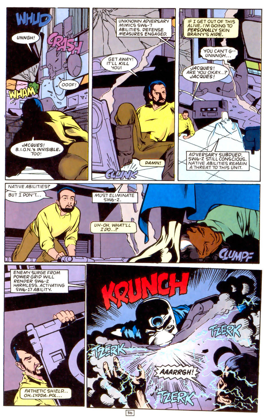 Legion of Super-Heroes (1989) 50 Page 36