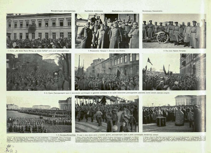 World War 1 And The Russian Revolution – Part 3 - Demonstrations