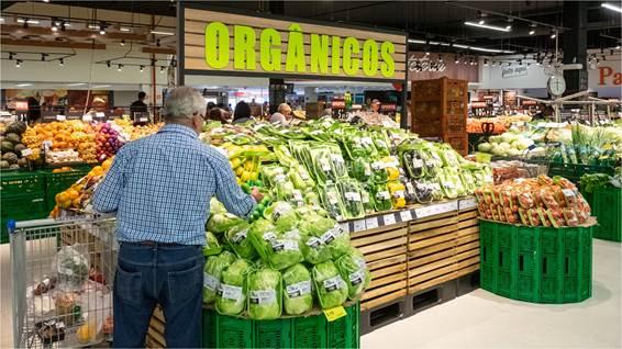 Carrefour cria área exclusiva para alimentos saudáveis em suas lojas