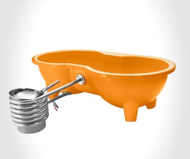Dutch Loveseat Hot Tub