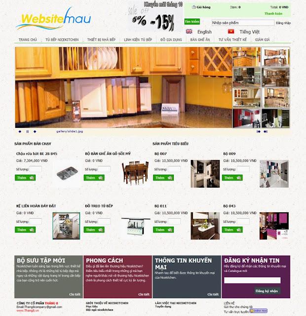 thiết kế website bán hàng đẹp tuyệt vời 4