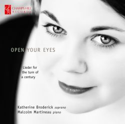 CHRCD046 - Open Your Eyes - Katherine Broderick - Cover