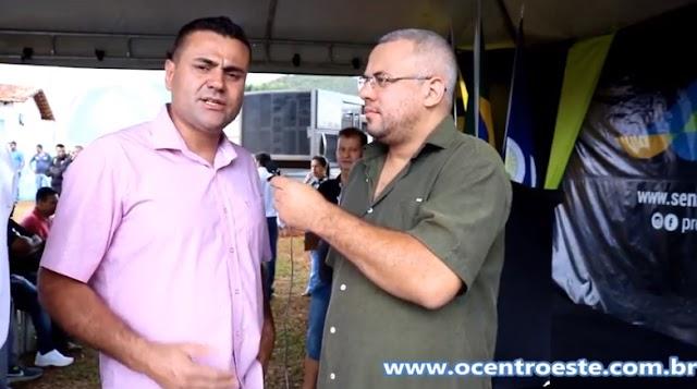 Vereador D'mel fala da importância do Esgoto Sanitário para Senador Canedo
