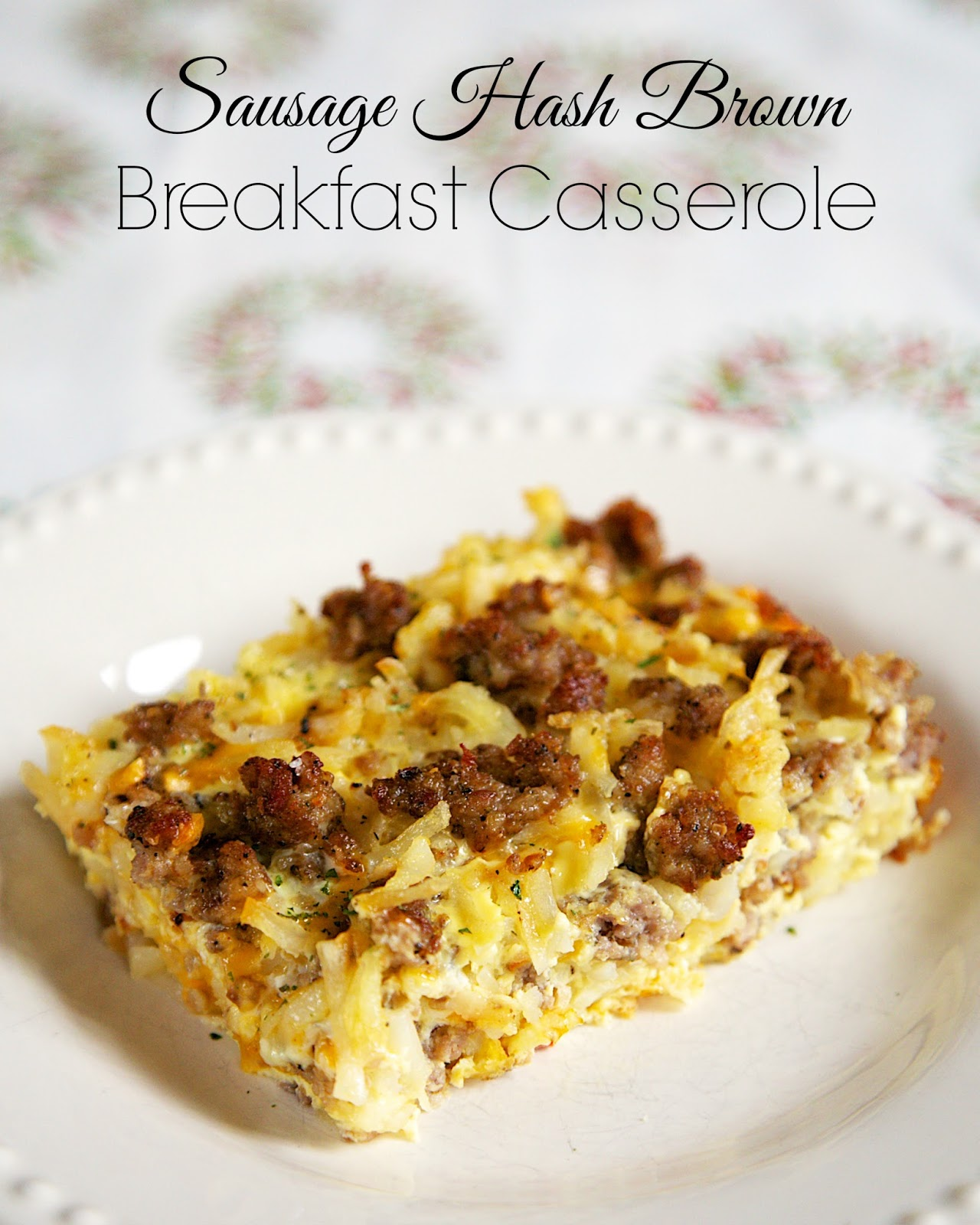 3-Cheese Breakfast Casserole combines cheddar, Swiss and cottage cheese along with hash browns and your favorite breakfast meat! 3-Cheese Breakfast Casserole is one of my favorite breakfast casserole recipes, and I've tried quite a few! Although this recipe is traditionally served for breakfast, we often have it for dinner at my house - you.