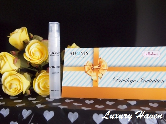 valentines day bellabox adonis dermatox