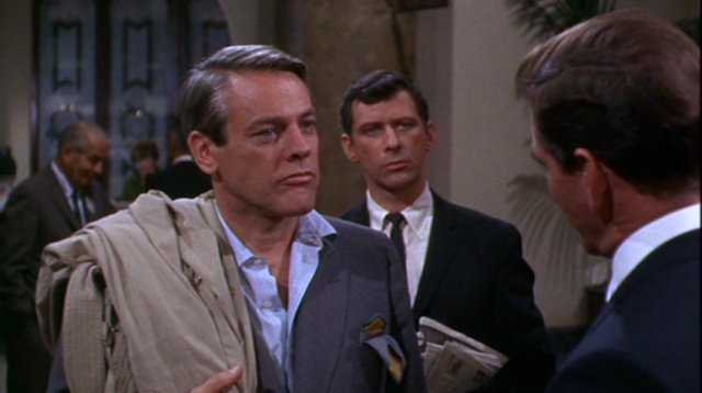 Kevin McCarthy as Curtis O'Keefe in Hotel (1967)