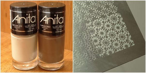 Anita Café com Leite e Capuccino e Carimbada