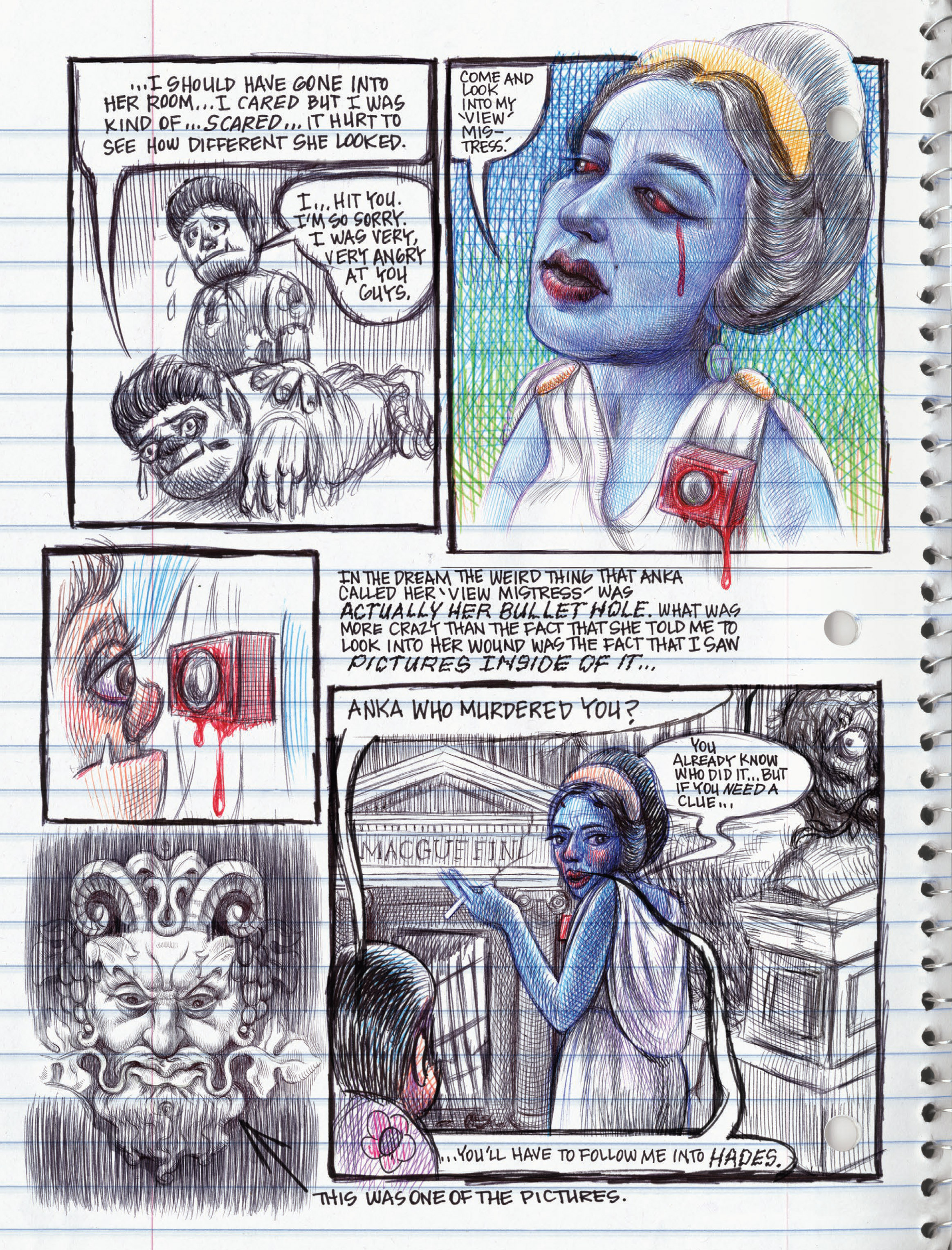 Read online My Favorite Thing is Monsters comic -  Issue #1.5 - 192