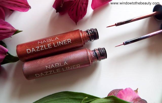 Nabla Dazzle Liner eyeliner recenzja i zdjecia
