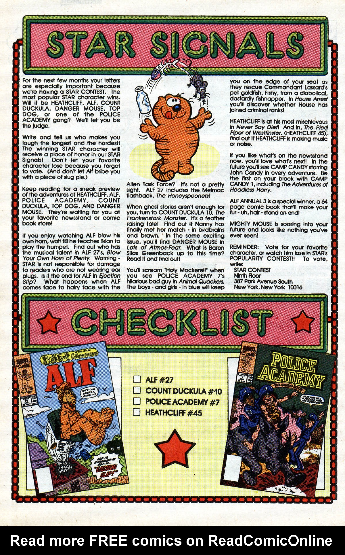 Read online ALF comic -  Issue #28 - 28