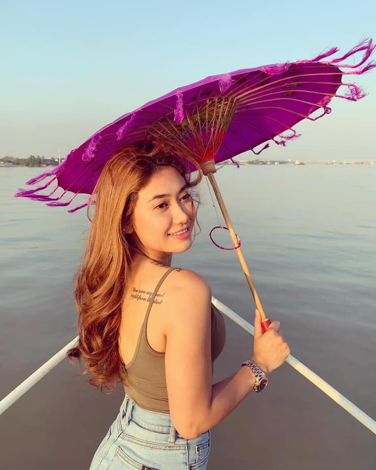 Thinzar Wint Kyaw Some Snaps on Sunny Day