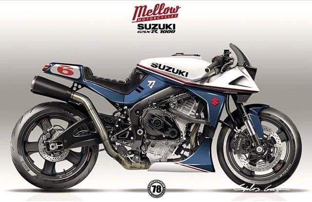 Mellow Motorcycles GSXR1000 / Suzuki Katana Mashup