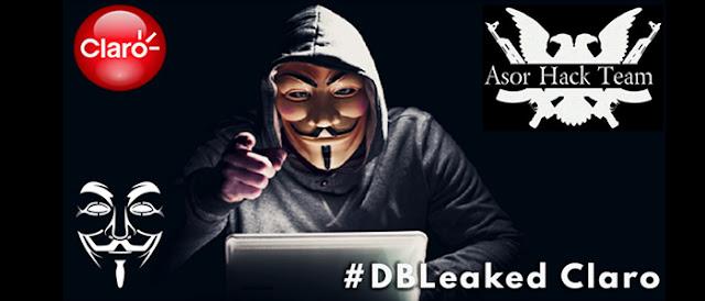 Anonymous expõe base de dados completa da operadora Claro.