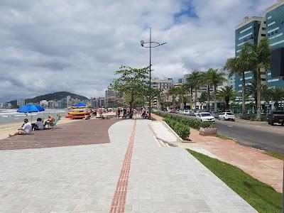 Parque Calçadão linear do Centro de Itapema