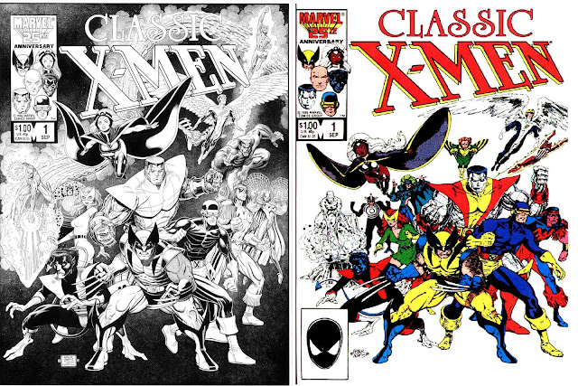 marvel comics of the 1980s amazing new classic x men. Black Bedroom Furniture Sets. Home Design Ideas