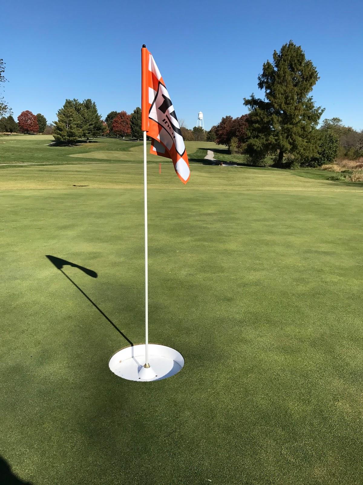 Minor park golf course maintenance