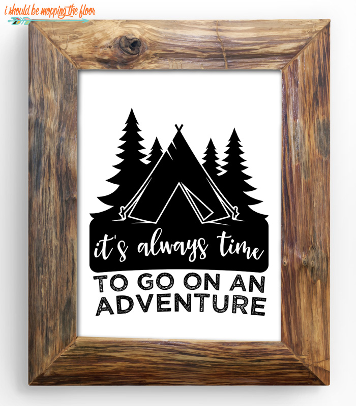 It's Always Time for Adventure