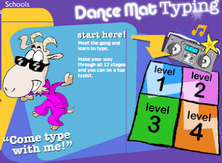 Dance Mat A Great Typing App Educational Technology And Mobile Learning