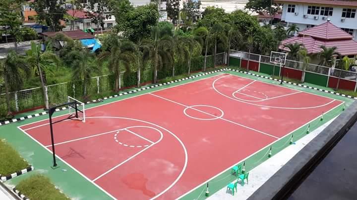 lapangan olahraga stmik hang tuah pekanbaru