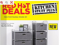 Kitchen stuff plus flyer valid October 16 - 22 , 2017