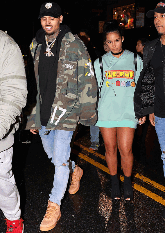 Who is chris brown dating currently 2017