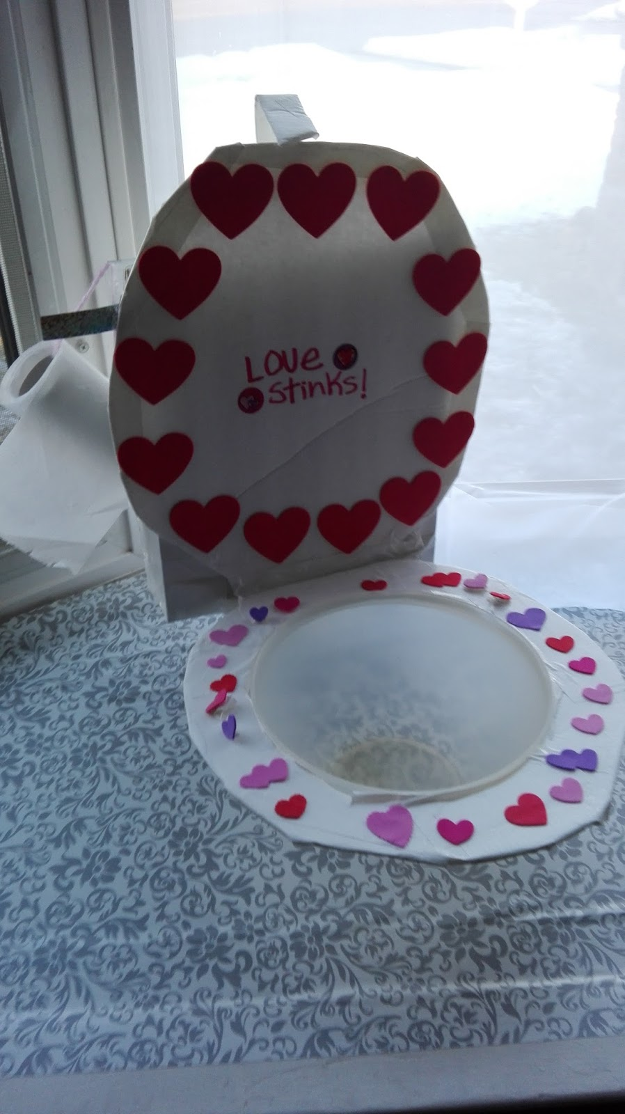 Here Is One Of The Kids Valentine Boxes From Last Year. There Was A Valentine  Box Contest At Our 4 H Club Meeting. This Is The One My Daughter Made And  She ...